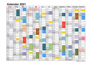 Jahresübersicht 2021